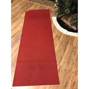 Jade Yoga mat. Gently used. Sedona Red.